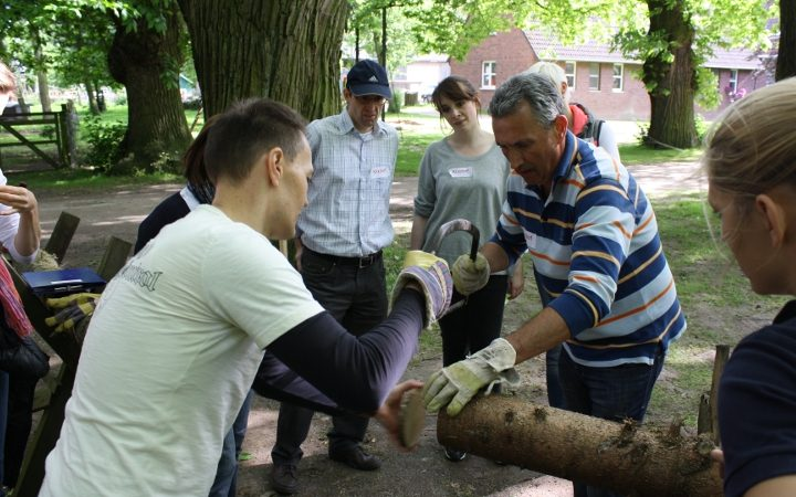 Teambuilding in einer schönen und ländlichen Umgebung fernab vom Alltag.