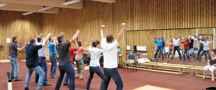 Teambuilding Indoor | HAKA-Team-Workshop