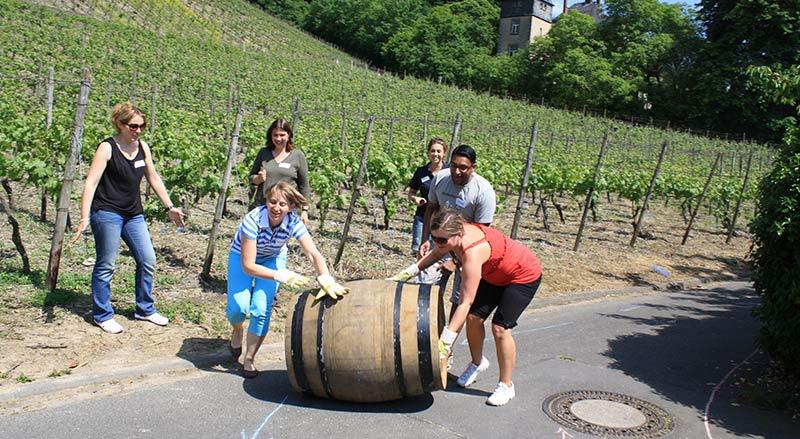 Sommerfest auf dem Weingut