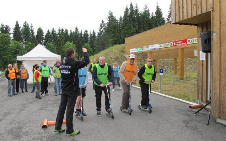 Teambuilding Outdoor | Team-Biathlon