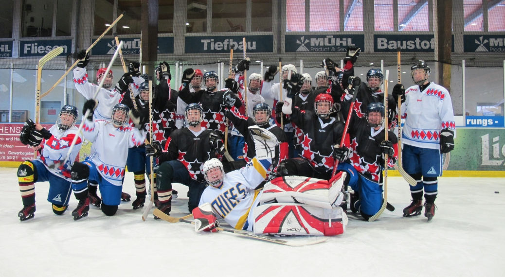 Team-Event Eishockeytraining