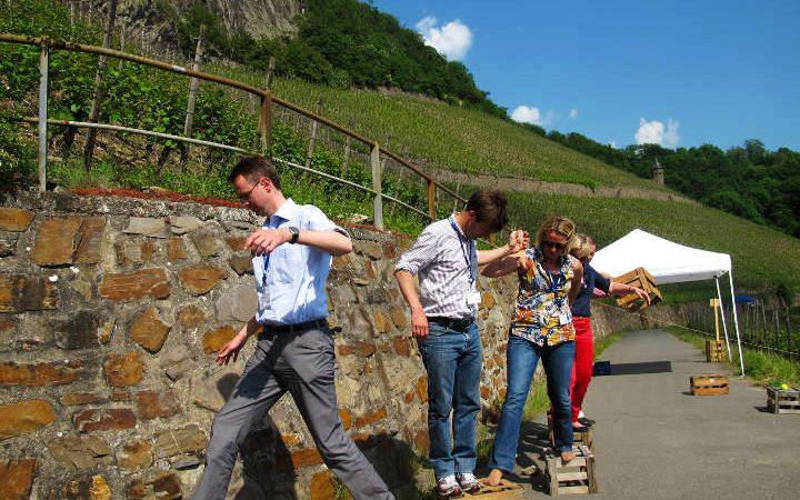 Individuelle Tagung auf dem Weingut