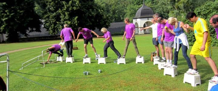 Teambuilding   Teambuilding auf der Wasserburg