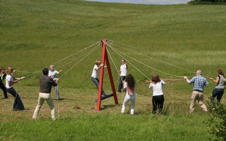 Teambuilding in ländlicher Umgebung mit vielen spannenden Programmpunkten