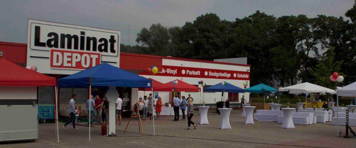 Sommerfest auf dem Firmengelände