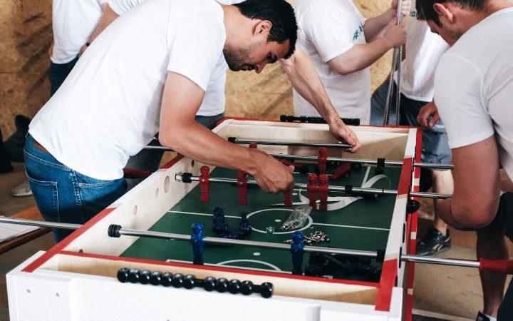 Teambuilding, Social-Event, Tischkicker, Table football