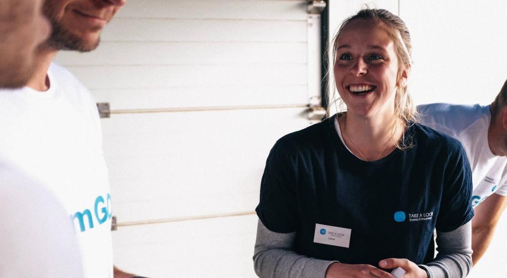 Celine – my job as a teamer at TAKE A LOOK